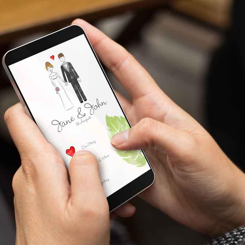 App Braurpaare Hochzeit