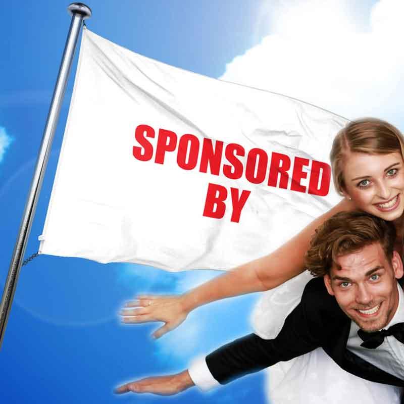 sponsoren hochzeit